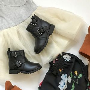 Old Navy Moto Style Boots (Toddler)